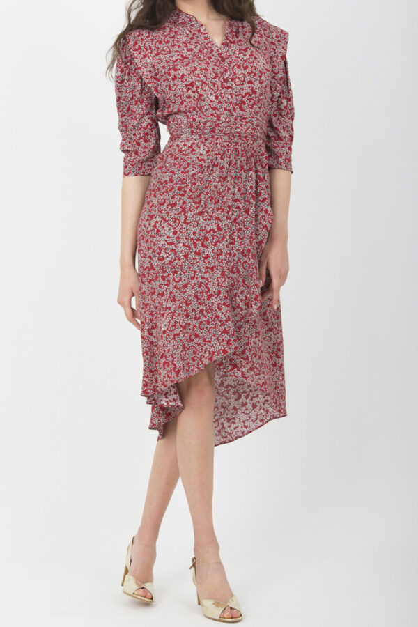 dress- ba&sh-red-pattern