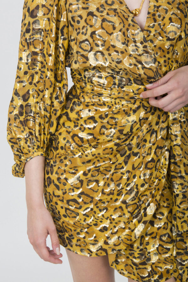 bash-matchboxathens-dress-animal-print-wrap