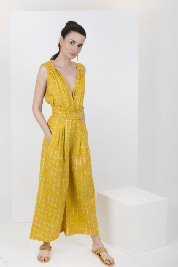 chevron-jumpsuit-mesdemoiselles-matchboxathens-yellow