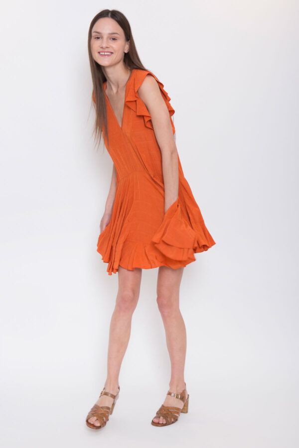 Lelia-dress-vanessa-bruno-ruffles-short-matchboxathens