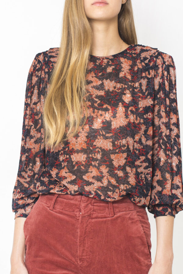 IRO Volkie Floral Top-matchboxathens