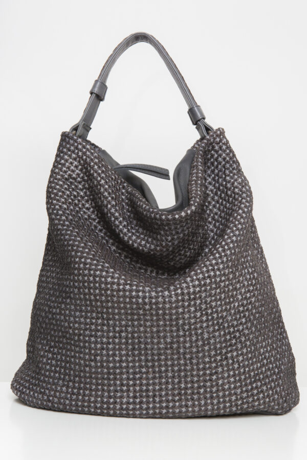 star-bag-leather-grey-weaved-reptiles-house-tote-matchboxathens