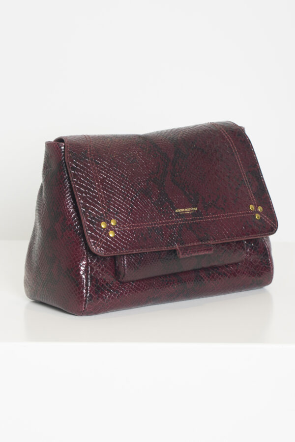 luluM-jerome-dreyfus-leather-python-bordeaux-matchboxathens