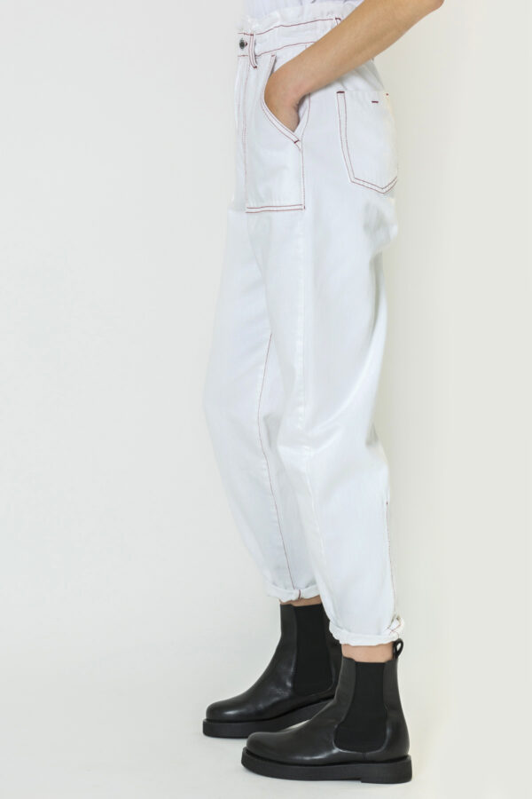 phebee-berenice-baggy-pants-white-topstitching-matchboxathens