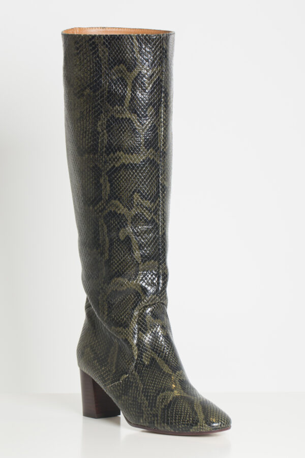 Henriette-snake-deep-green-leather-boots-anonymous-copenhagen-matchboxathens