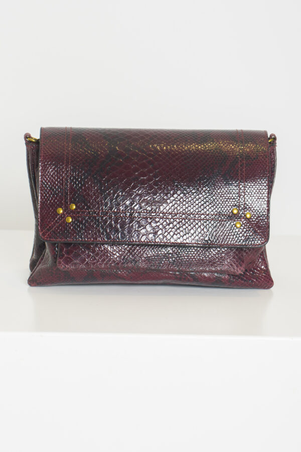 charlyM-bag-leather-python-bordeaux-jerome-dreyfuss-matchboxathens