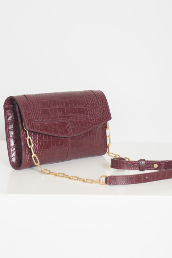 rabat-clutch-bag-croc-bordeaux-shoulder-vanessa-bruno-matchboxathens