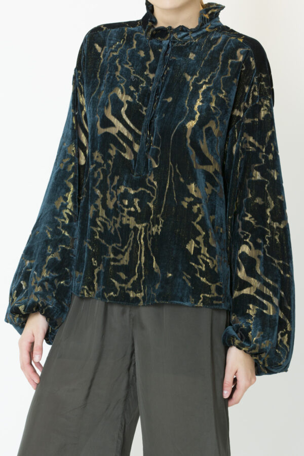 tal-peacock-blouse-devore-berenice-matchboxathens