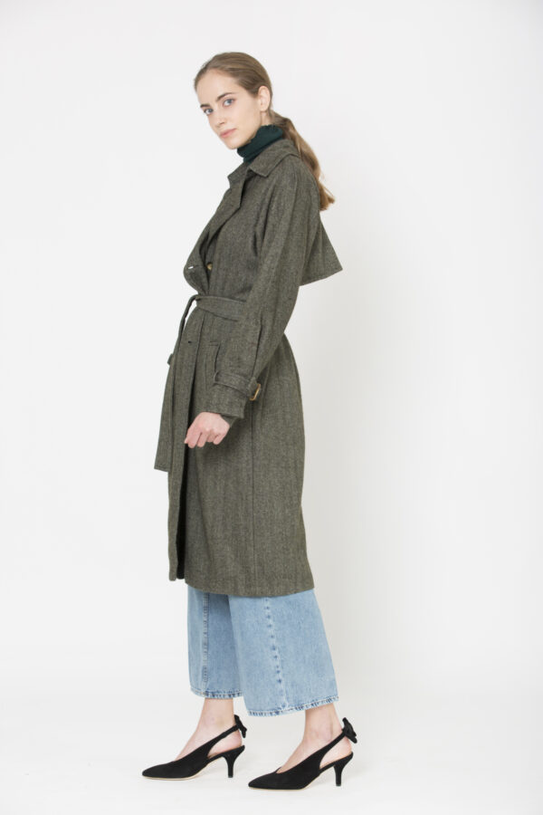 miguel-trench-coat-wool-green-charlie-joe-matchboxathens