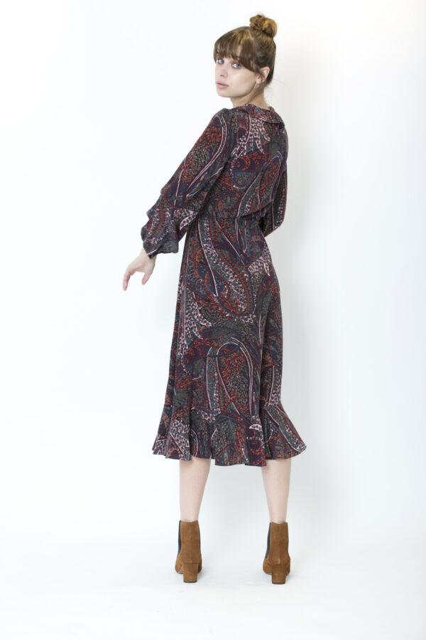 pryska-vanessa-bruno-silk-dress-ruffles-matchboxathens