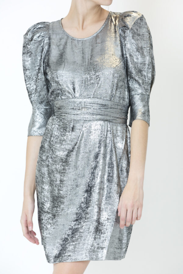 edie-silver-dress-metallic-twist-tango-matchboxathens-