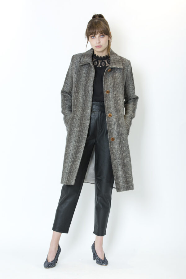 martino-coat-grey-tweed-belt-waist-sessun-matchboxathens