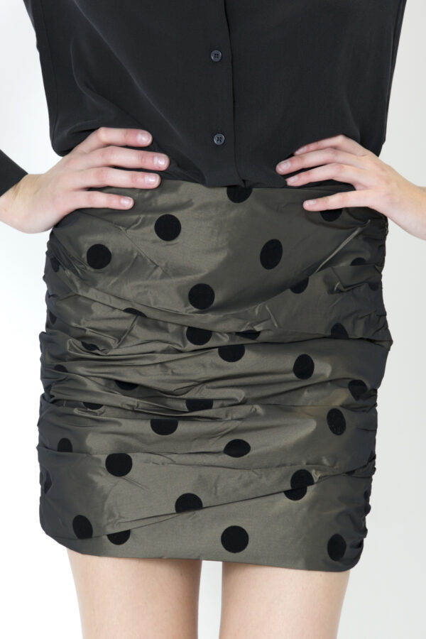 bec-bridge-mini-skirt-spot-velvet-black-taffeta-matchboxathens