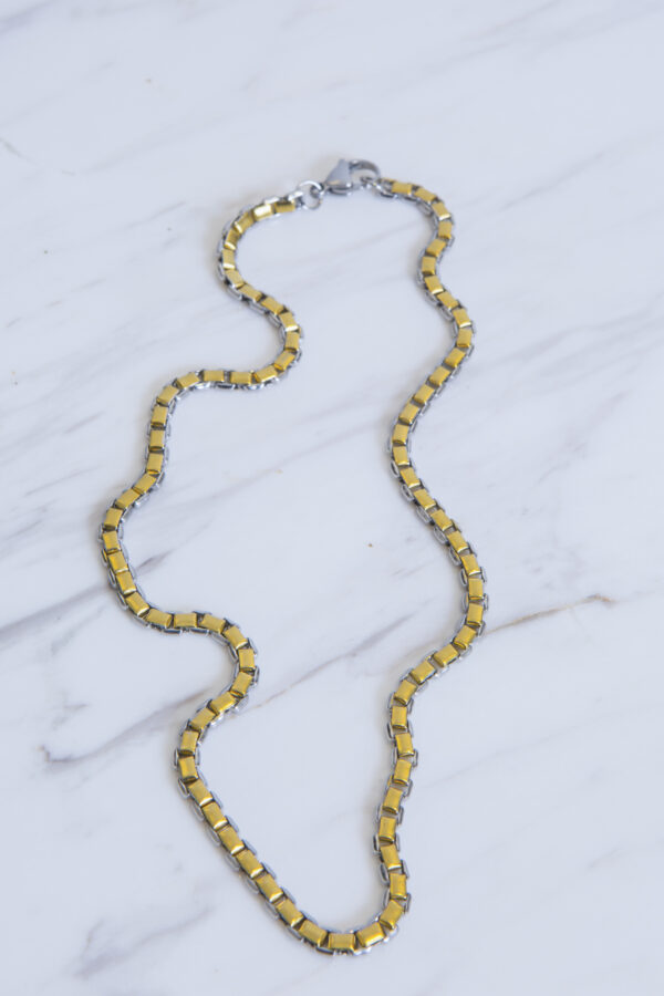 two-tone-steel-gold-plated-chain-sarli-matchboxathens