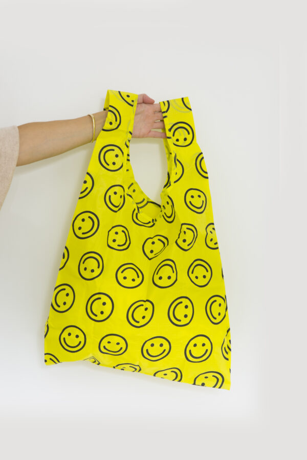 standard-bag-yellow-smileys-face-happy-shopping-nylon-eco-friendly-baggu-matchboxathens