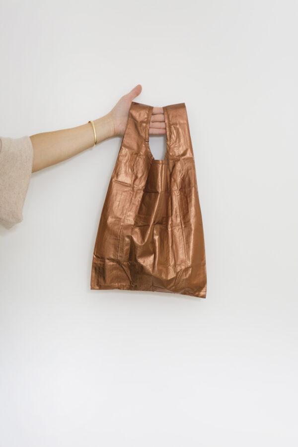 baby-baggu-shopping-bag-reusable-nylon-copper-metallic-matchboxathens