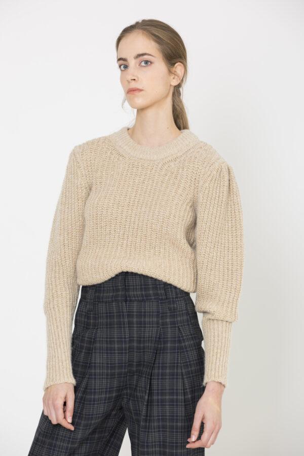 precious-beige-sweater-wool-vanessa-bruno-matchboxathens