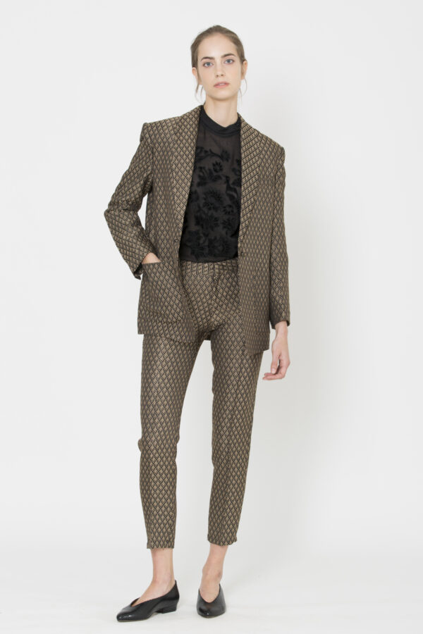 bella-fancy-royal-leaves-jacquard-blazer-reiko-matchboxathens