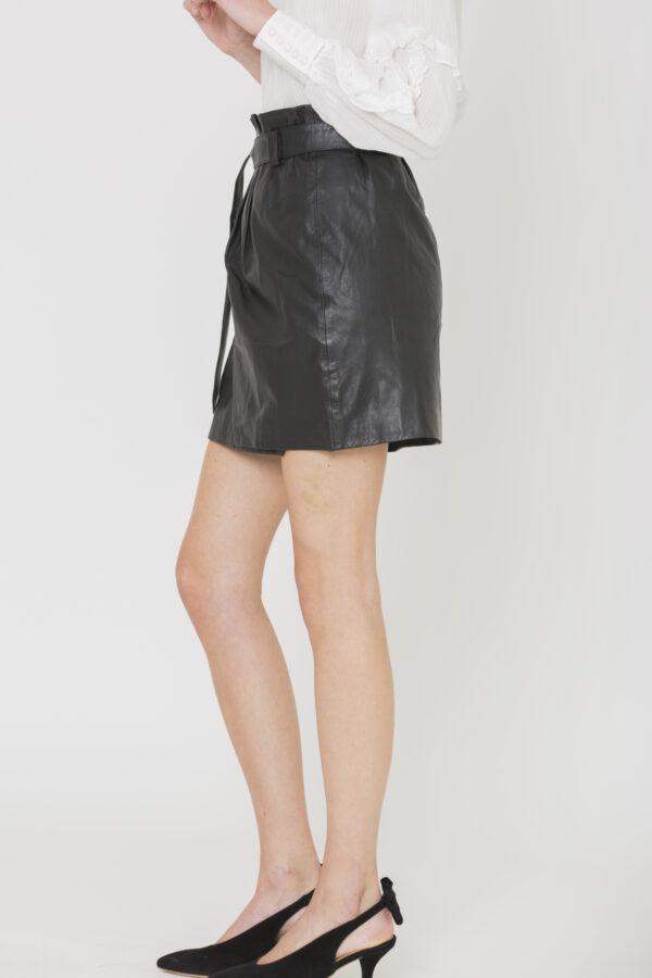 jazz-skirt-wrap-leather-mini-black-berenice-matchboxathens