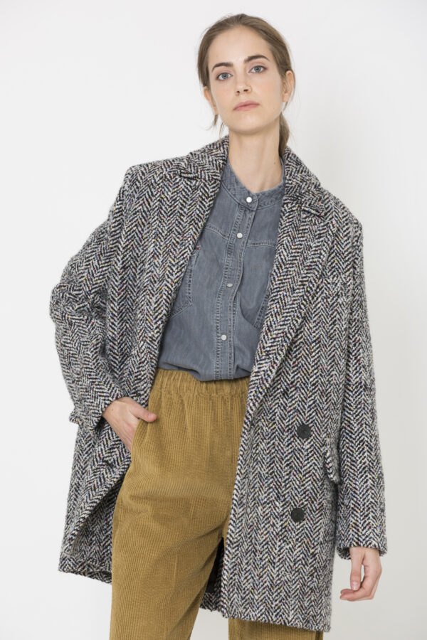mostra-coat-fishbone-grey-wool-american-vintage-matchboxathens