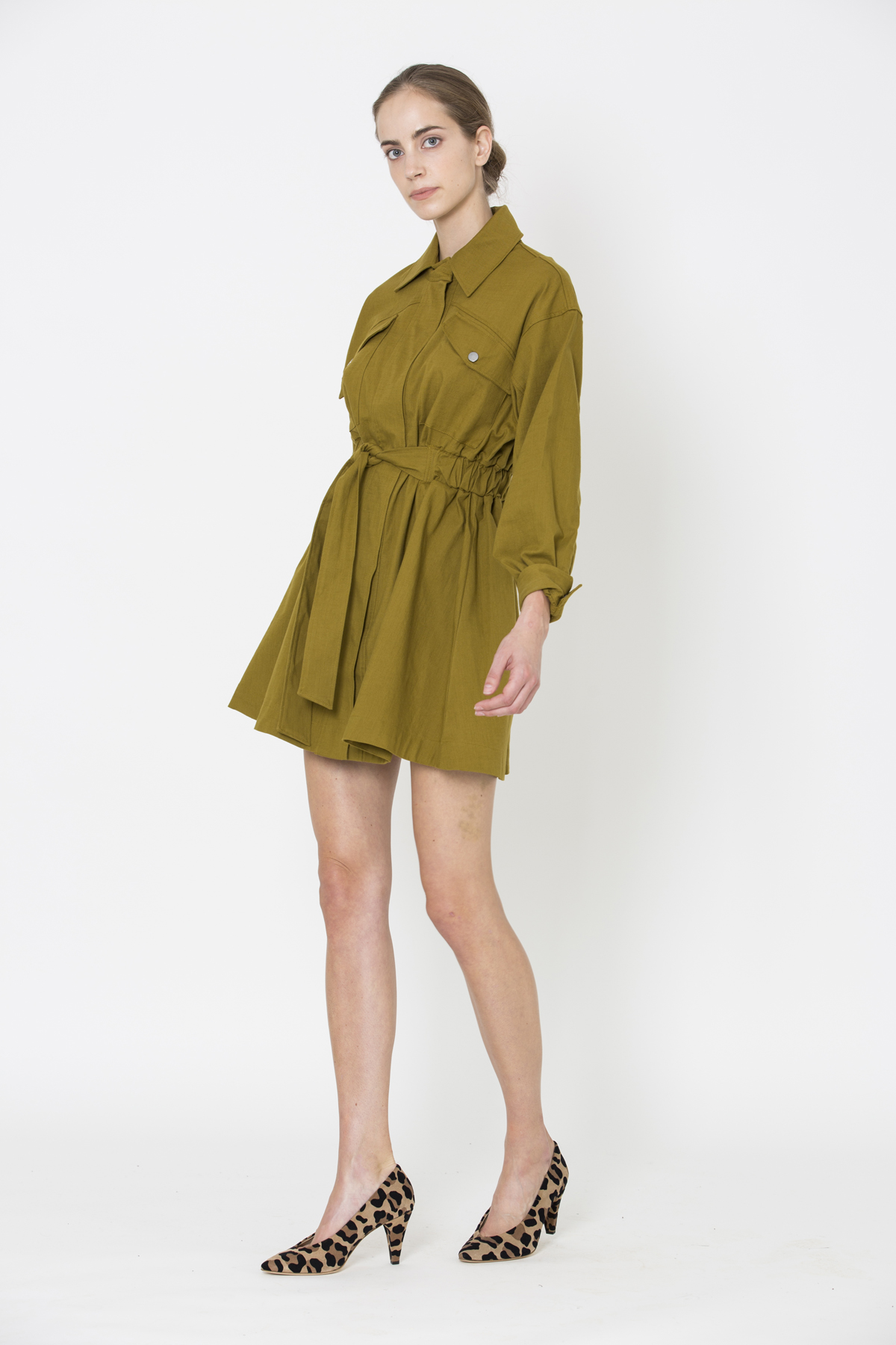 oden-olive-dress-trench-shirt-collar-bash-cotton-matchboxathens