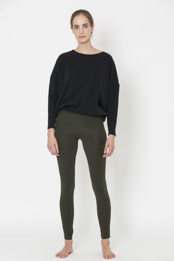 herringbone-green-leggings-deha-organic-cotton-slim-fitting-matchboxathens