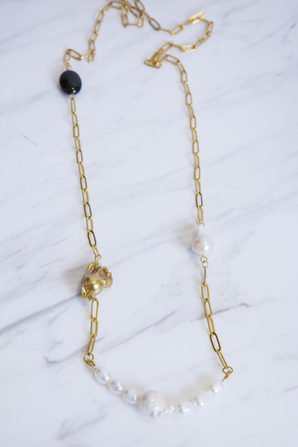 long-gold-plated-oval-chain-pearls-achatis-gem-sarli-matchboxathens