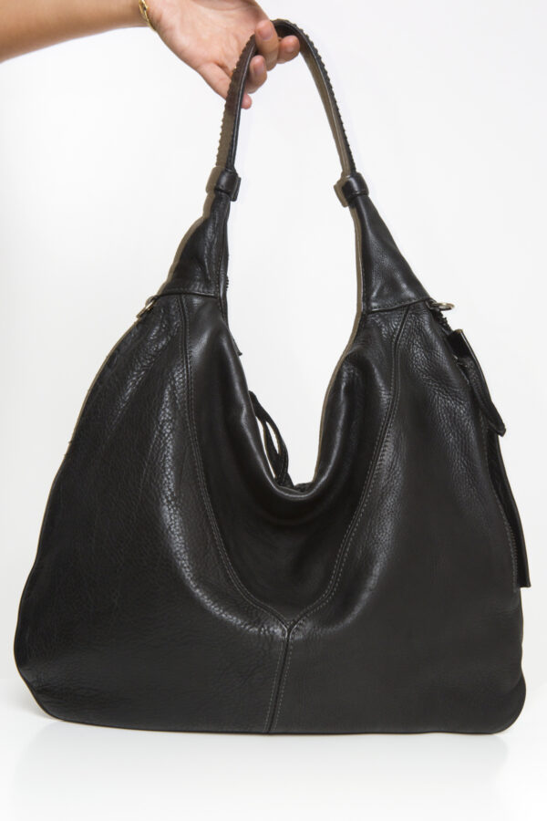 wave-black-bag-leather-handmade-reptiles-house-matchboxathens