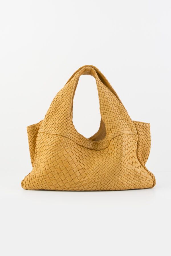 claramonte-camel-leather-weave-matchboxathens
