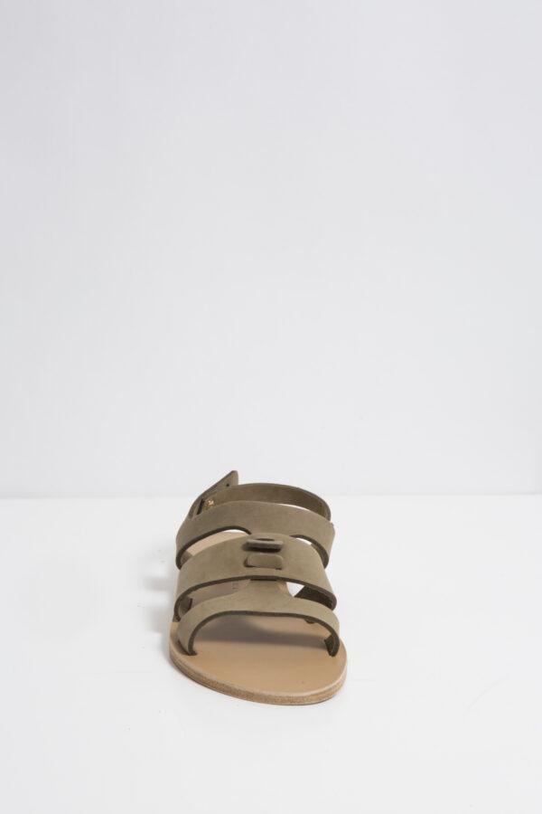 orient-kaki-sandal-leather-suede-valia-gabriel-matchboxathens