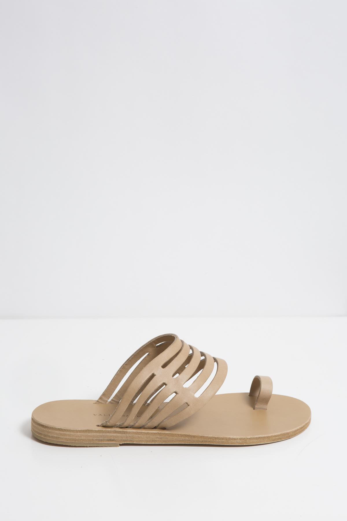 cocobay-olive-leather-sandals-valia-gabriel-matchboxathens