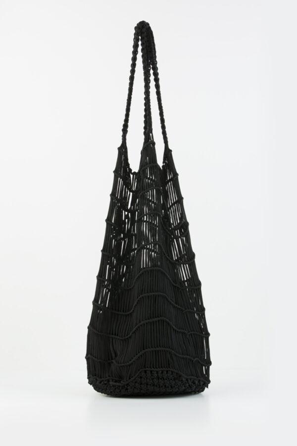 samik-bag-black-perforated-woven-anita-bilardi-matchboxathens