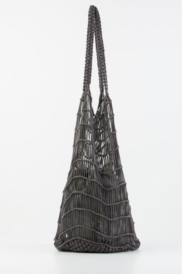 samik-bag-grey-perforated-woven-anita-bilardi-matchboxathens