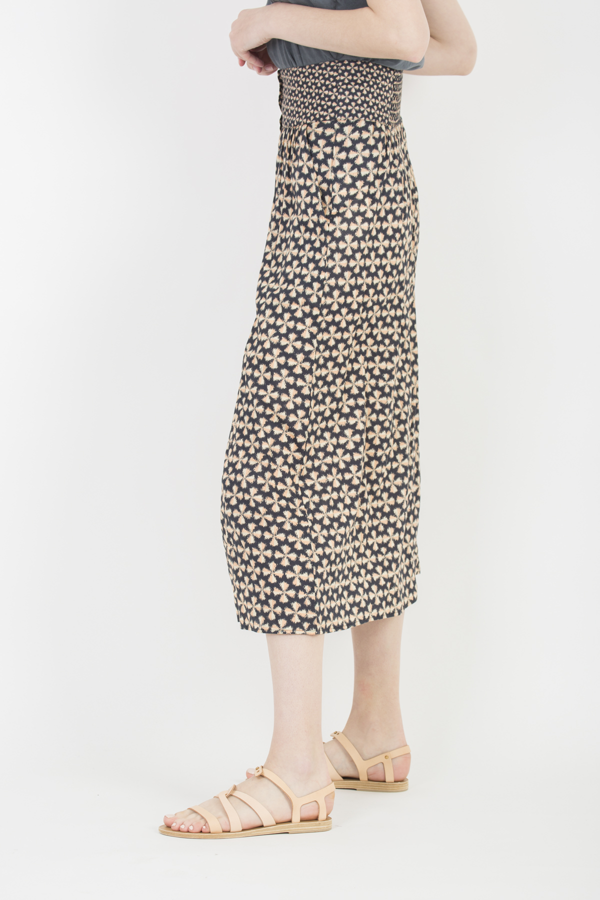 cylia-black-print-skirt-bash-matchboxathens