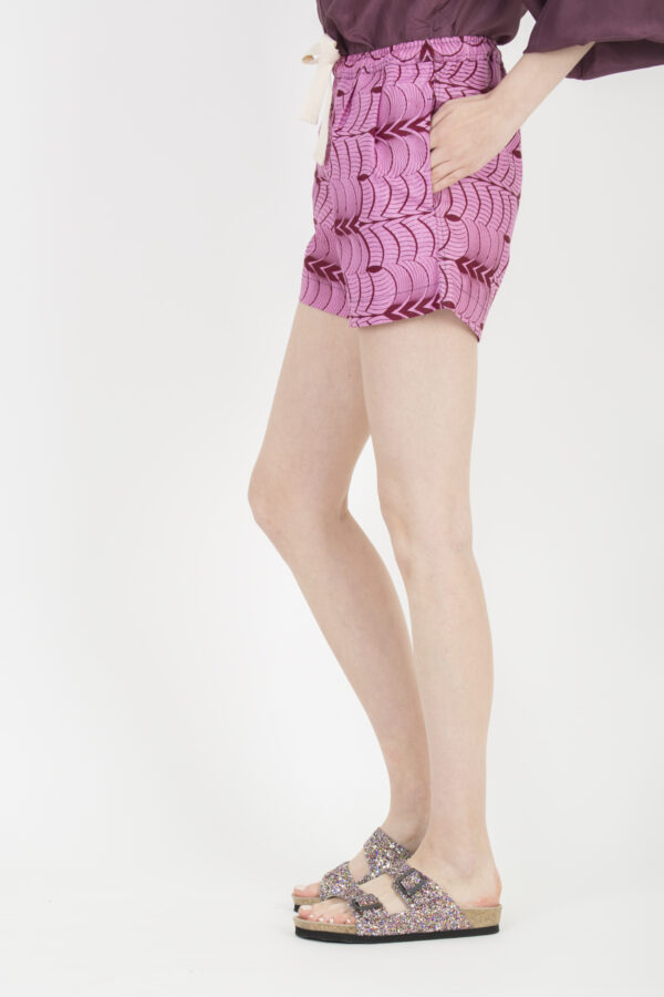 ravi-pink-lashes-shorts-kimale-wax-cotton-african-matchboxathens