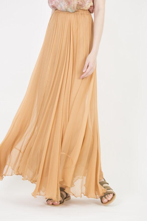 jamie-skirt-viscose-elasticated-waistband-asymmetric-honey-mes-demoiselles-matchboxathens
