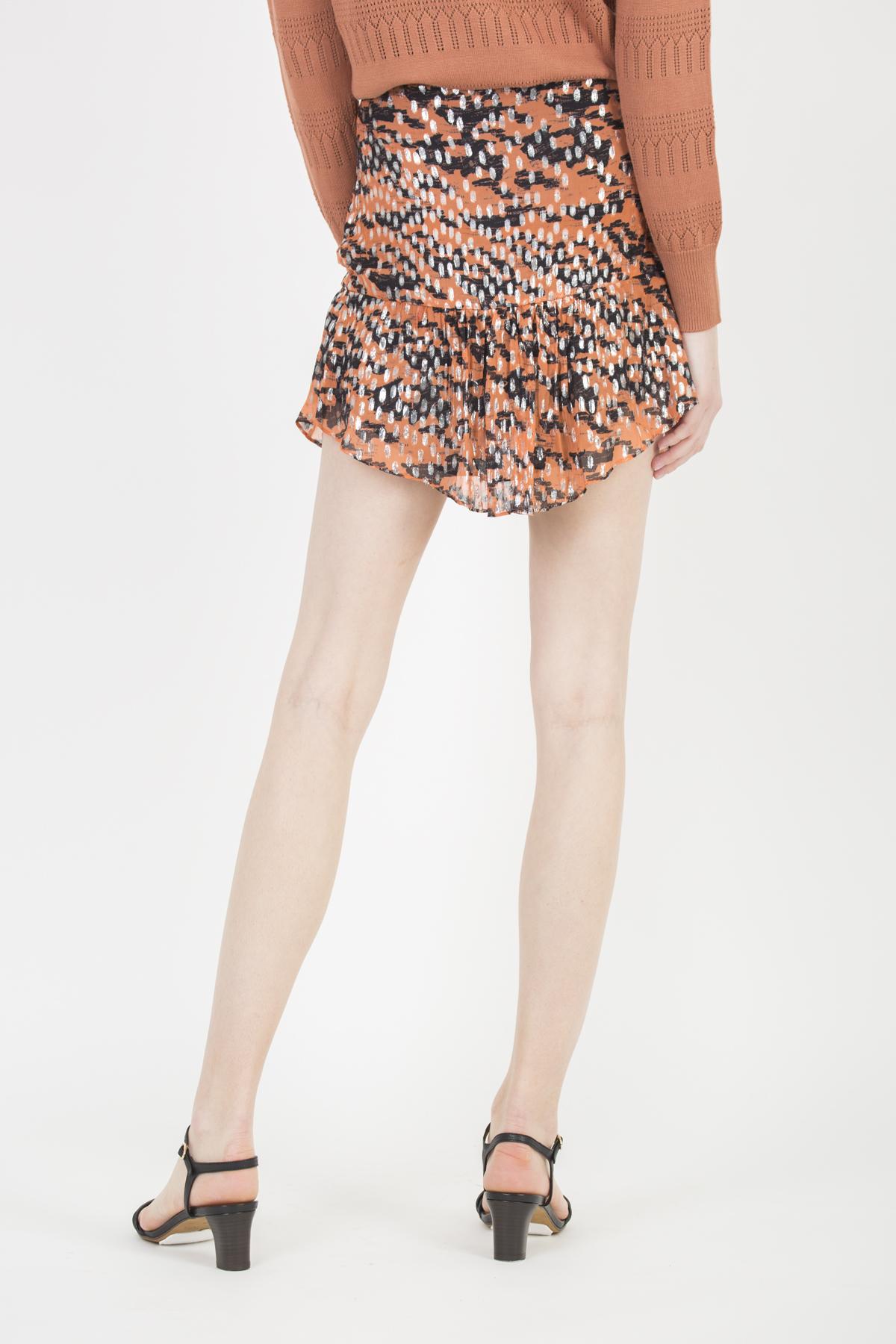 dilian-skirt-peach-silver-iro-mini-metallic-matchboxathens