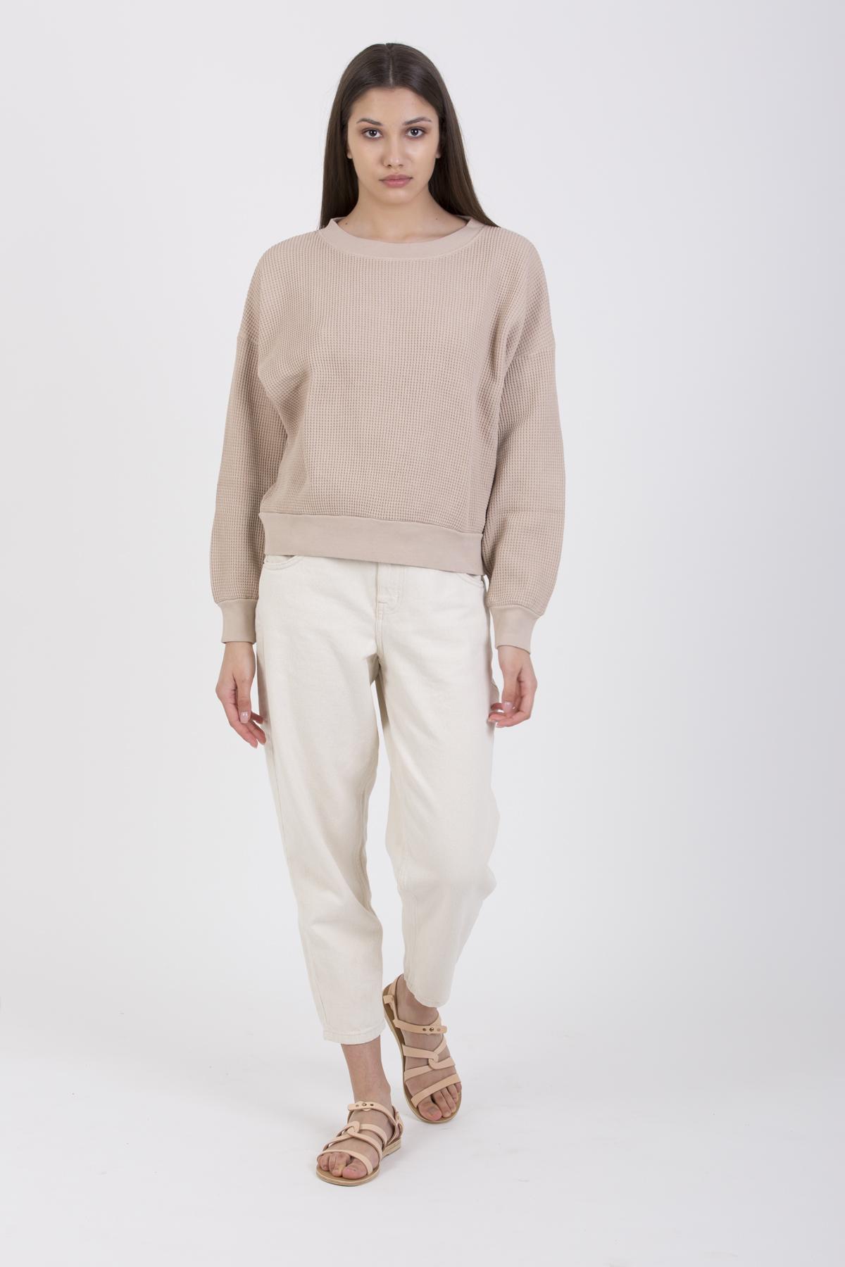 bowi-waffle-cotton-rose-sweatshirt-american-vintage-matchboxathens