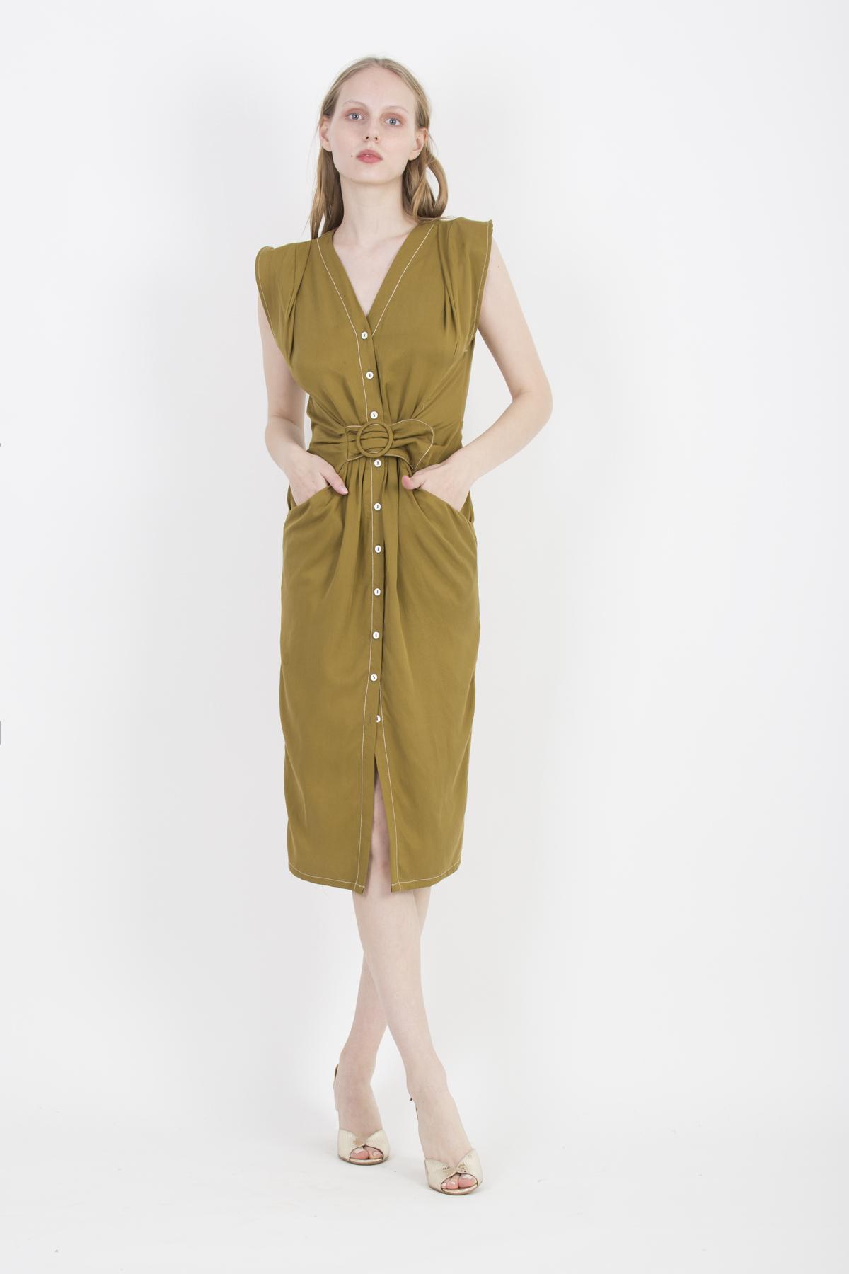 laila-midi-dress-viscose-stitching-uniforme-athens-matchboxathens