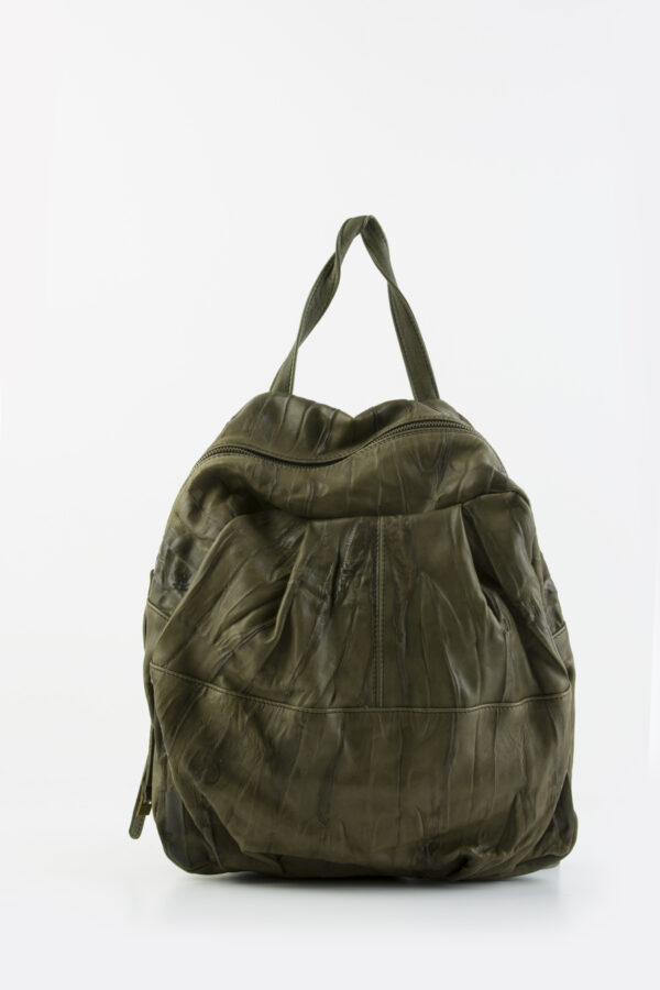 mialuis-backpack-lamskin-leather-pleated-green-matchboxathens