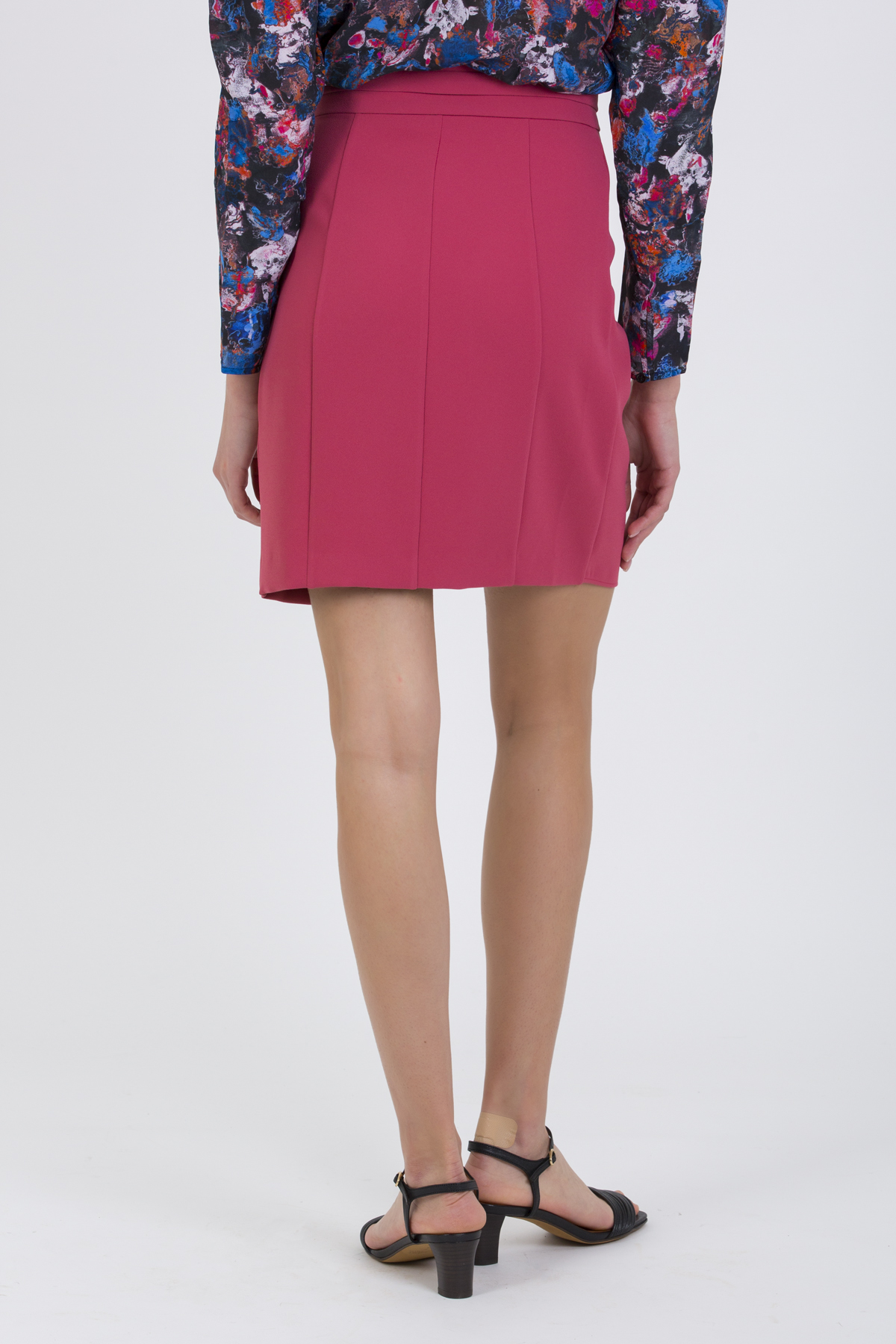 rama-drapped-gathered-skirt-short-high-waist-iro-framboise-matchboxathens