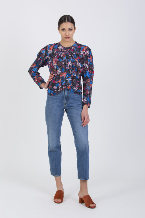 wolnie-top-blue-black-floral-iro-matchboxathens