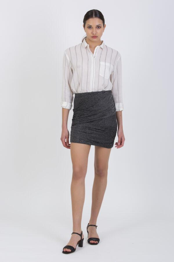 lith-skirt-black-silver-metallic-mini-iro-matchboxathens