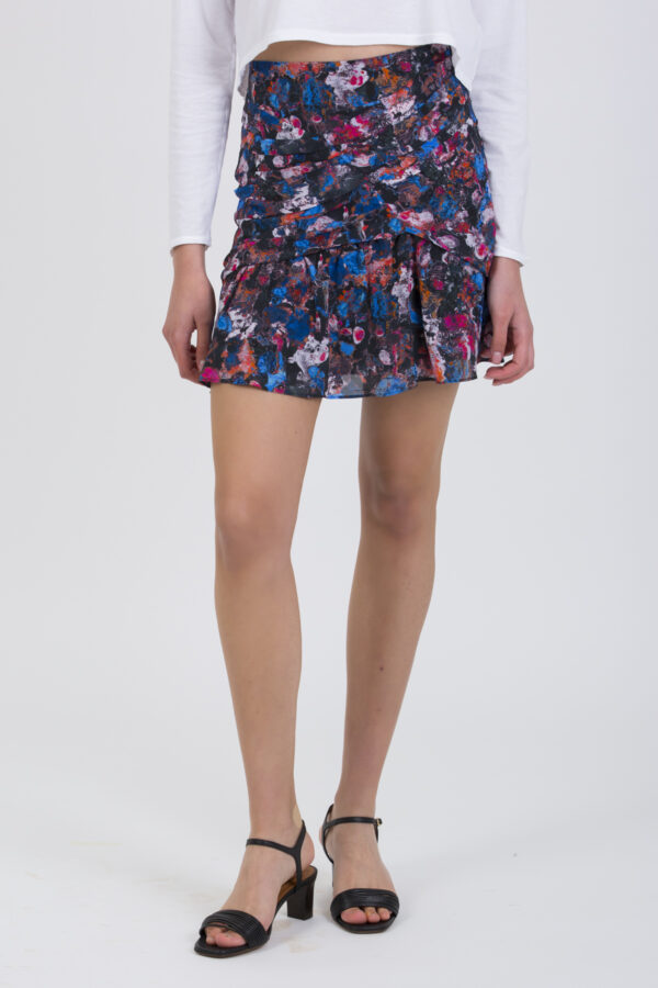NUADA-BLACK-BLUE-SKIRT-IRO-MATCHBOXATHENS