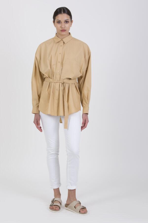 carat-camel-oversized-shirt-cotton-mesdemoiselles-matchboxathens