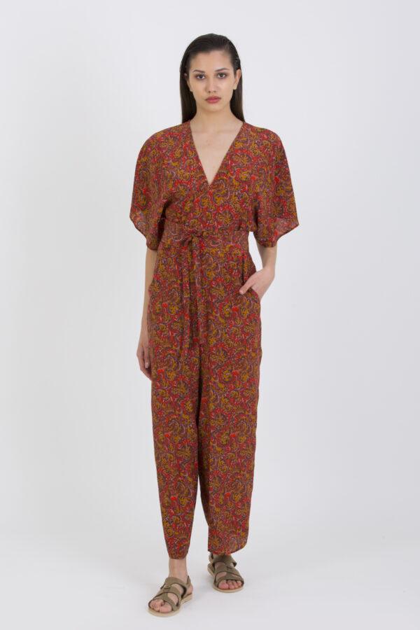lelie-jumpsuit-silk-paisley-vanessa-bruno-waist-belt-matchboxathens