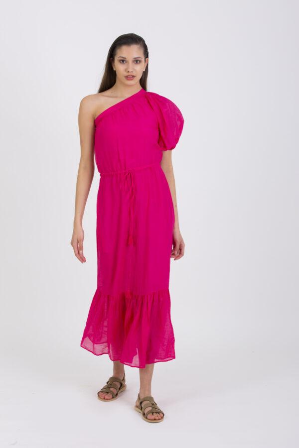 naora-silk-fuchsia-dress-vanessa-bruno-matchoxathens