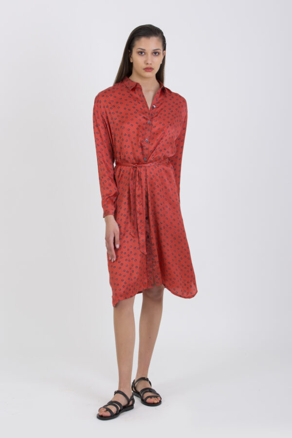 charlotte-dress-red-polka-shirt-maison-hotel-matchboxathens