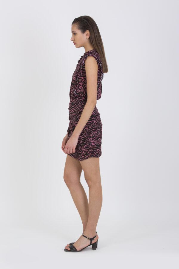 riha-black-zebra-dress-mini-berenice-matchboxathens