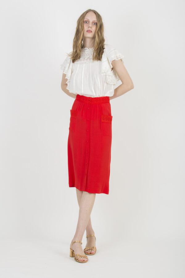 jacket-skirt-la-petite-francaise-red-matchboxathens